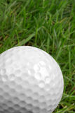 Golf ball close-up Royalty Free Stock Photography