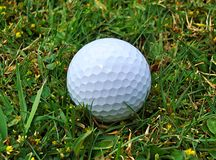 Golf Ball (close up) Royalty Free Stock Image