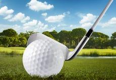Golf concept Royalty Free Stock Photos
