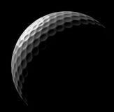 Golf ball in dark Stock Photo