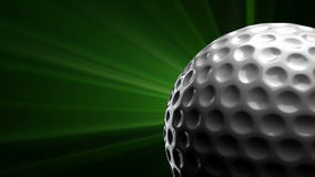 Golf Ball stock video