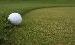 Golf Ball on the Fringe Stock Photos