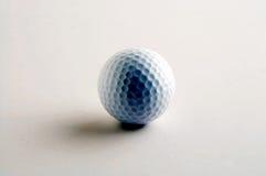 Golf ball - Golfball. White Golfball on white Background - weisser Golfball vor weissem Hintergrund royalty free stock photo