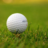 Golf ball in grass Stock Photos