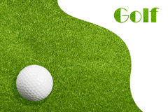 Golfiing Royalty Free Stock Images