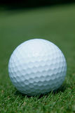Golf-ball on green Royalty Free Stock Image