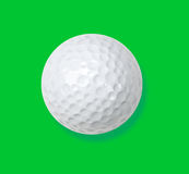 Golf ball on green. Royalty Free Stock Photography