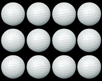 Golf ball group Stock Image