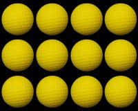 Golf ball group2 Stock Photo