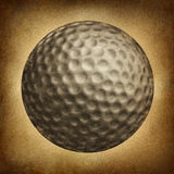 Golf Ball Grunge Stock Photo
