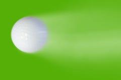 Golf ball high speeds Royalty Free Stock Photos