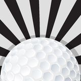 Golf ball icon design Royalty Free Stock Photo