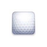 Golf ball icon Stock Photos