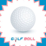 Golf Ball Icon Royalty Free Stock Image