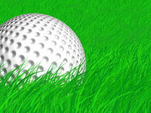 Free Golf Ball In The Rough Stock Photos - 5286873
