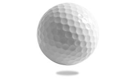 Golf ball. Isolated Stock Photos