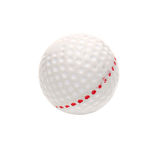 Golf ball isolated on white Stock Photos