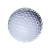 Golf ball isolated on white background Royalty Free Stock Photos