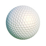 Golf ball isolated at white background. Stock Images