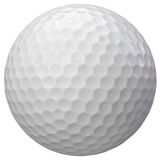 Golf ball isolated Stock Image