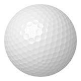 Golf ball isolated on white Stock Images