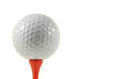 Golf Ball Isolation Stock Photos