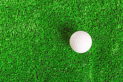 Golf ball on the lawn Royalty Free Stock Photography