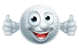 Golf Ball Man Royalty Free Stock Images