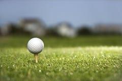 Free Golf Ball On Tee Royalty Free Stock Image - 2046266