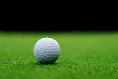 Free Golf Ball On The Green Stock Photo - 33617650