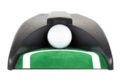 Golf ball return toy machine Royalty Free Stock Images