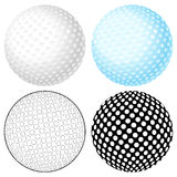 Golf ball set Royalty Free Stock Photo