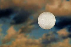 Golf Ball In The Sky Stock Photography