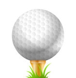 Golf Ball, Sport, Golfing. Vector Illustration of Golf Ball. Best for Sport, Design Element, Backgrounds concept Royalty Free Illustration