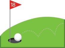 Golf Ball Royalty Free Stock Photos