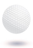 Golf ball vector illustration Royalty Free Stock Image