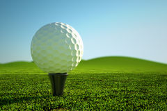 Golf ball. Stock Photo