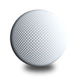 Golf ball white Royalty Free Stock Images