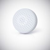 Golf ball. Royalty Free Stock Image