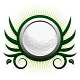 Golf ball winged icon Royalty Free Stock Photography