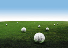 Free Golf Balls Stock Image - 1045061