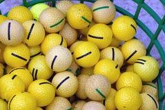 Golf Balls Stock Photography