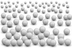Golf balls Stock Photos