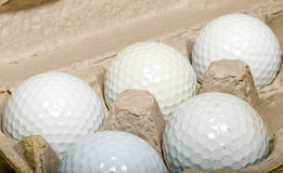 Golf balls  Stock Photos