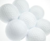 Golf balls. (Group Royalty Free Stock Photography