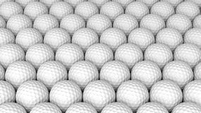 Golf balls. And abstract background Stock Photo