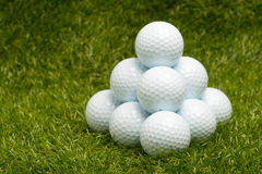 Golf balls Stock Image