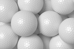 Golf balls background Stock Photo