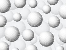 Golf balls background Stock Images