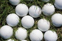Golf balls background Royalty Free Stock Photos